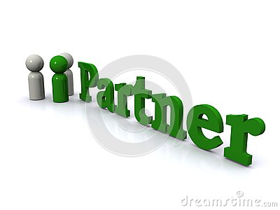 Business partner sign