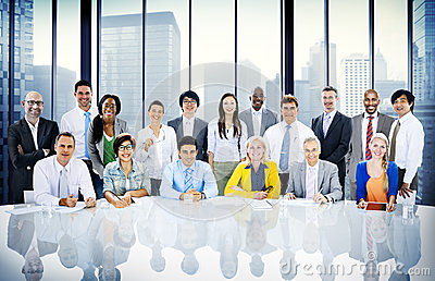 Business People Diversity Team Corporate Professional Concept Stock Photo