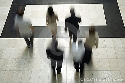 Business people going to work 3