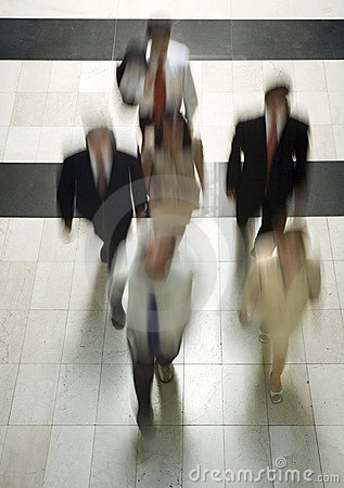 Business people going to work 4