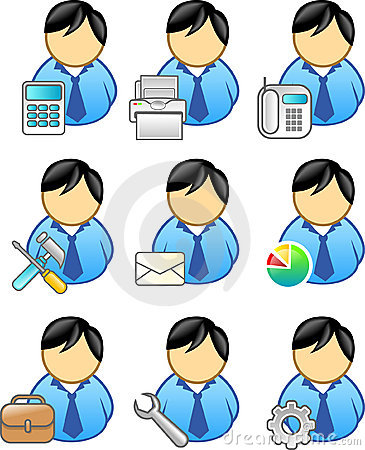 Free Business People Icon Royalty Free Stock Photo - 2110265