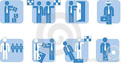 Business people - icon