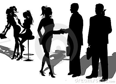 Business People Partnership