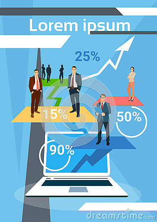 Business People Successful Team Finance Growth