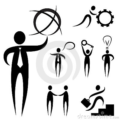 Business people symbol