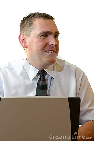 Business People - Working With Laptop