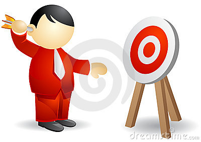 Business person - targeting