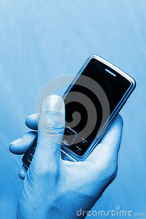 Free Business Phone Mobile  Royalty Free Stock Photos - 9994028
