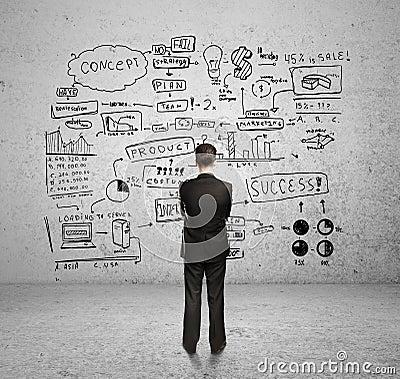 Free Business Plan Stock Image - 27636331