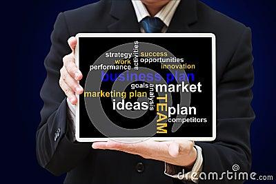 Business plan chart