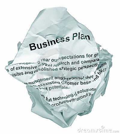 Free Business Plan Reject Royalty Free Stock Photography - 1234747