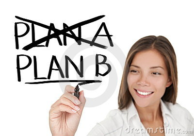 Business plan - woman drawing