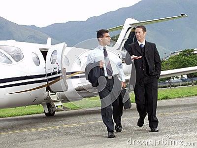 Business plane.