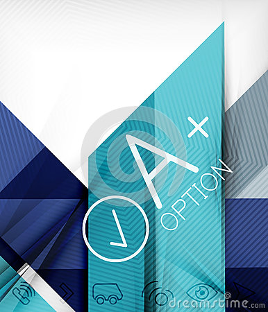 Business presentation stripes abstract background