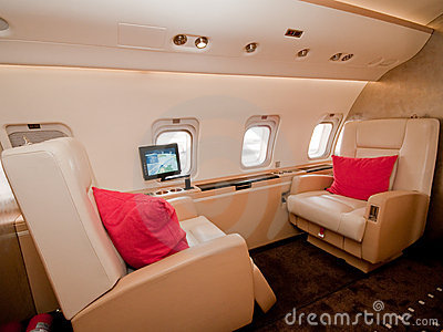 Business Private Plane at Singapore Airshow 2010 Editorial Image