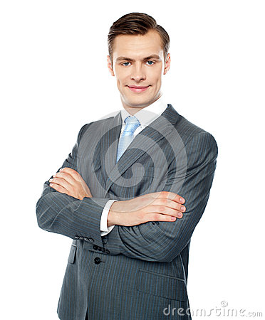 Business professional handsome portrait