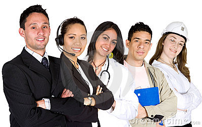 Business professionals - job recruitment