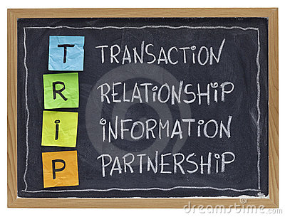 Business relationship and partnership  concept