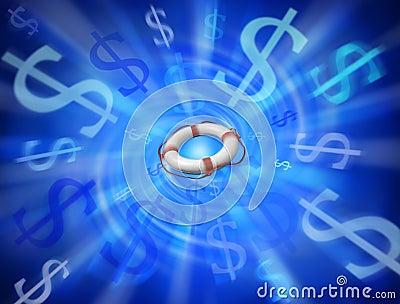 Business Rescue Money Debts Background