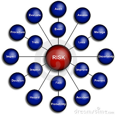 Business Risk Management Diagram
