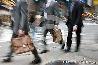 Business rush hour