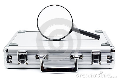 Business search and review on white background