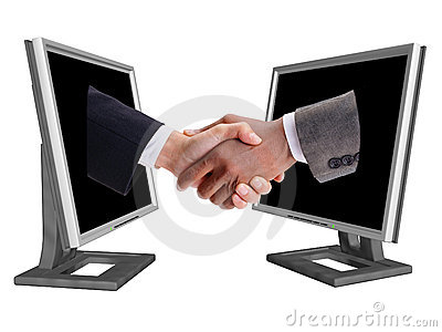 BUSINESS SHAKE HANDS