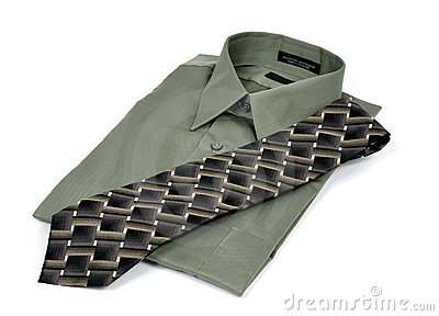 Business Shirt And Tie Royalty Free Stock Photography - Image: 8957527
