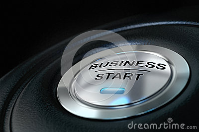 Business start button