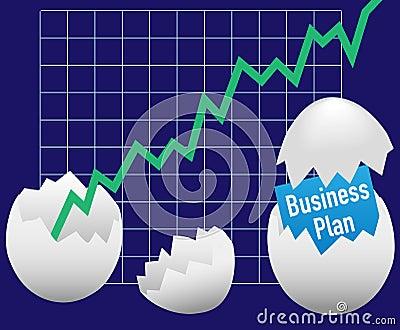Business startup plan hatch egg growth