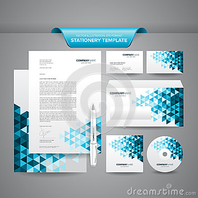 Free Business Stationery Template Stock Photo - 33178890
