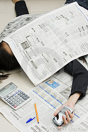 Business stress and failure