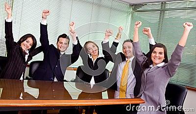 Business success - team