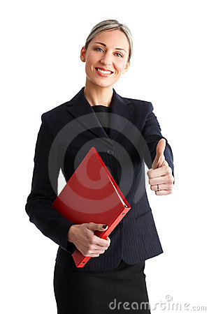 Free Business Success Woman Royalty Free Stock Photography - 4663387
