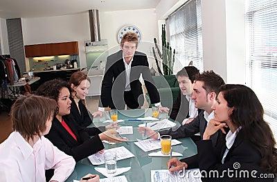 Business Team - The Boss