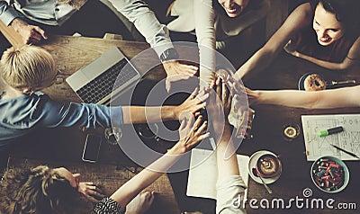 Business Team Celebration Party Success Concept Stock Photo