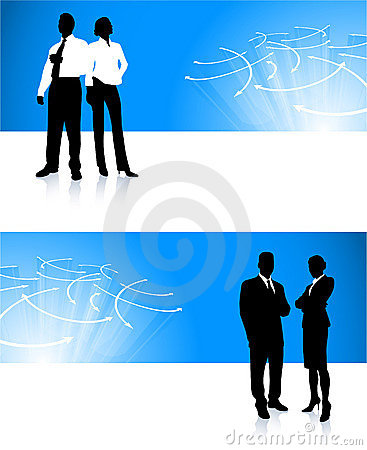 Business team corporate banner backgrounds