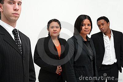Business Team - group of four