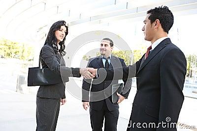Business Team Handshake