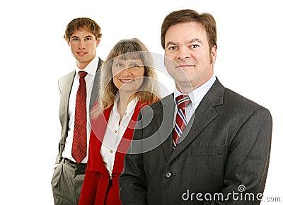Business Team - Mature Male Leader
