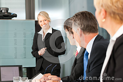 Business - team in office
