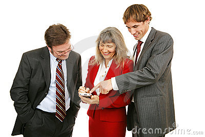 Business Team Plays Game