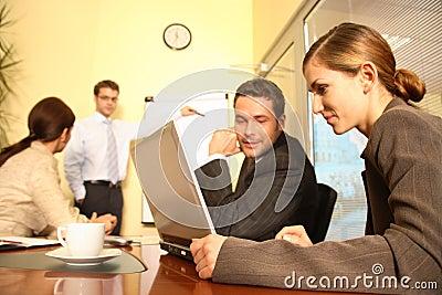 Business Team Preparing a Proposal