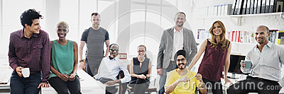 Business Team Professional Occupation Workplace Concept Stock Photo