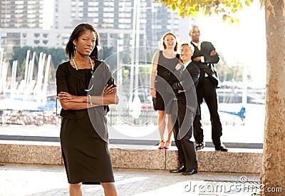 Business Team Woman