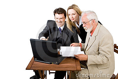 A business team working (4)