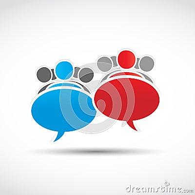 teams speech concept