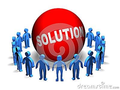Business Teamwork - Solution