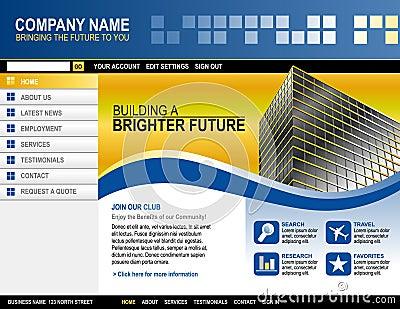 Business Technology Website Template