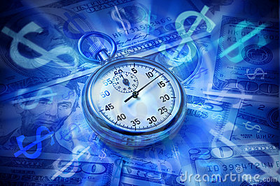 Business Time Money Watch Dollar